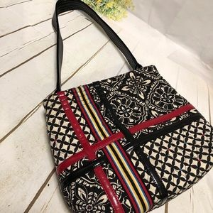 "Vera Bradley Retired ""Barcelona"" Pattern Purse"
